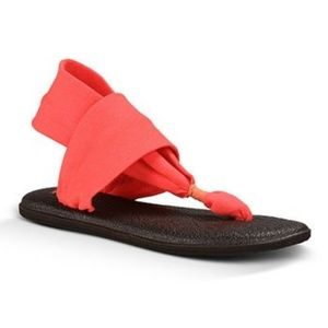 Sanuk Yoga Sling 2 Women's Sandals in Coral